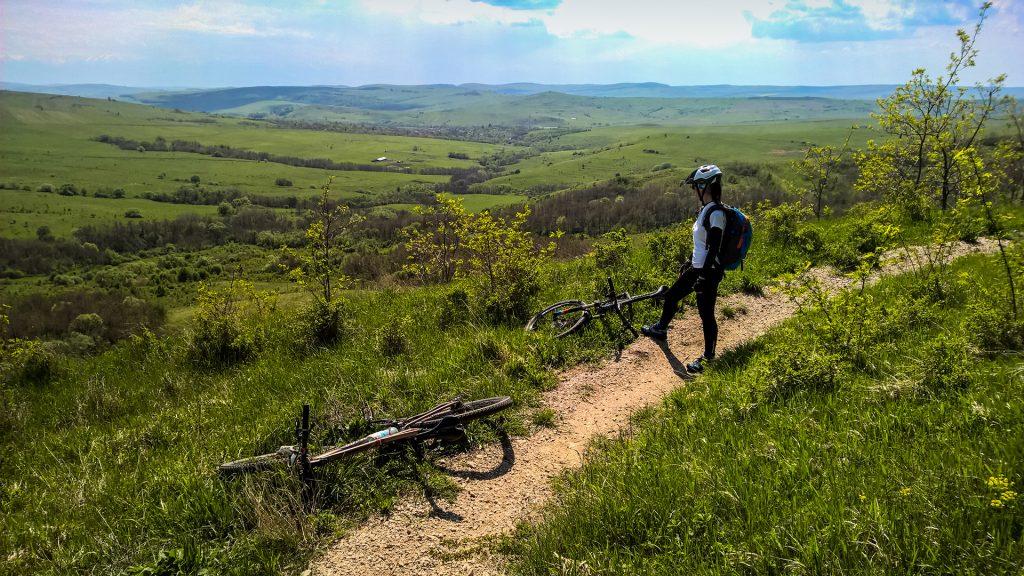 Cu bicicleta la Viscri
