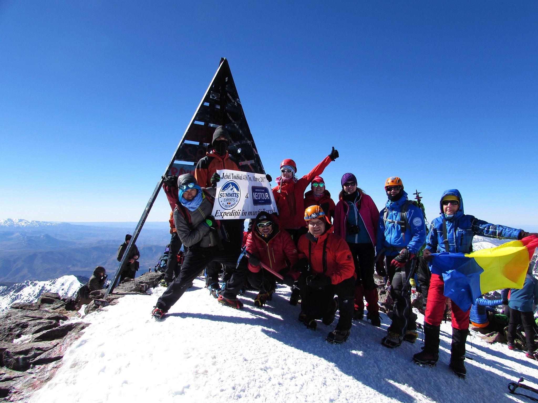 Expeditie montana-Maroc,, Jebel Toubkal, 4167 m