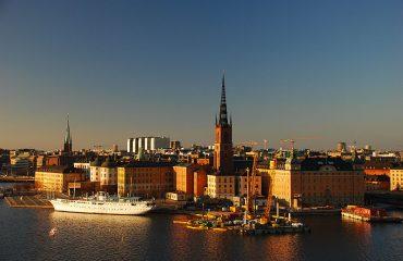 Vedere panoramica asupra Stockholmului