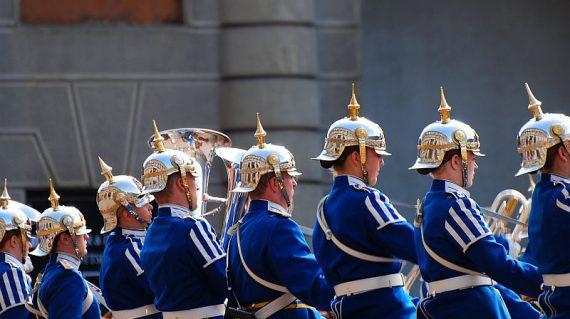 schimbare de garda stockholm