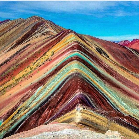 Vinicunca - muntele Curcubeu