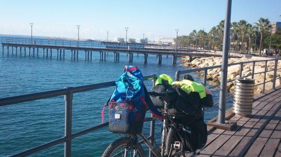 Pe bicicletă în Cipru