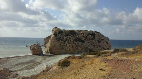 Stânci in Marea Mediterana