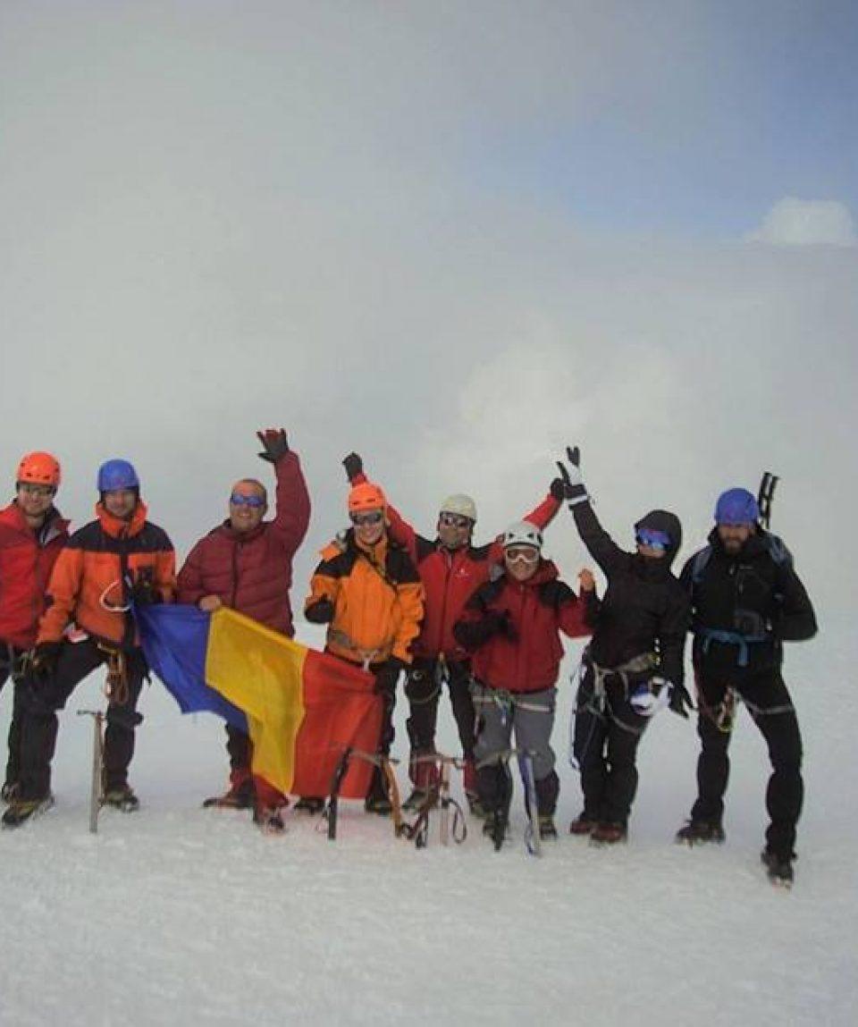 Varful Mont Blanc, 4810 m