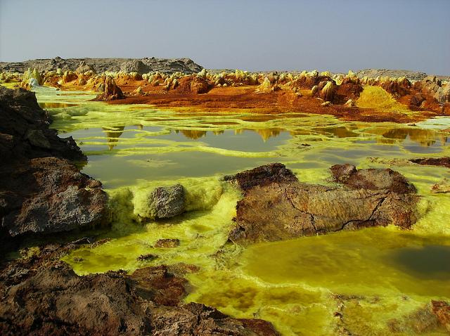 Dallol-unul din cele mai îndepărtate locuri de pe Pământ, pe care îl vom vizita în acest circuit in Etiopia