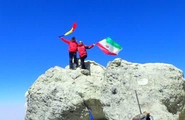 Pe vulcanul Damavand, 5671m