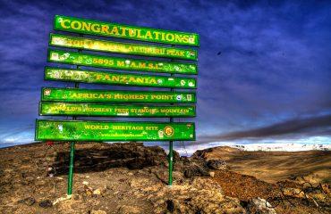 Uhuru Peak-Kilimanjaro