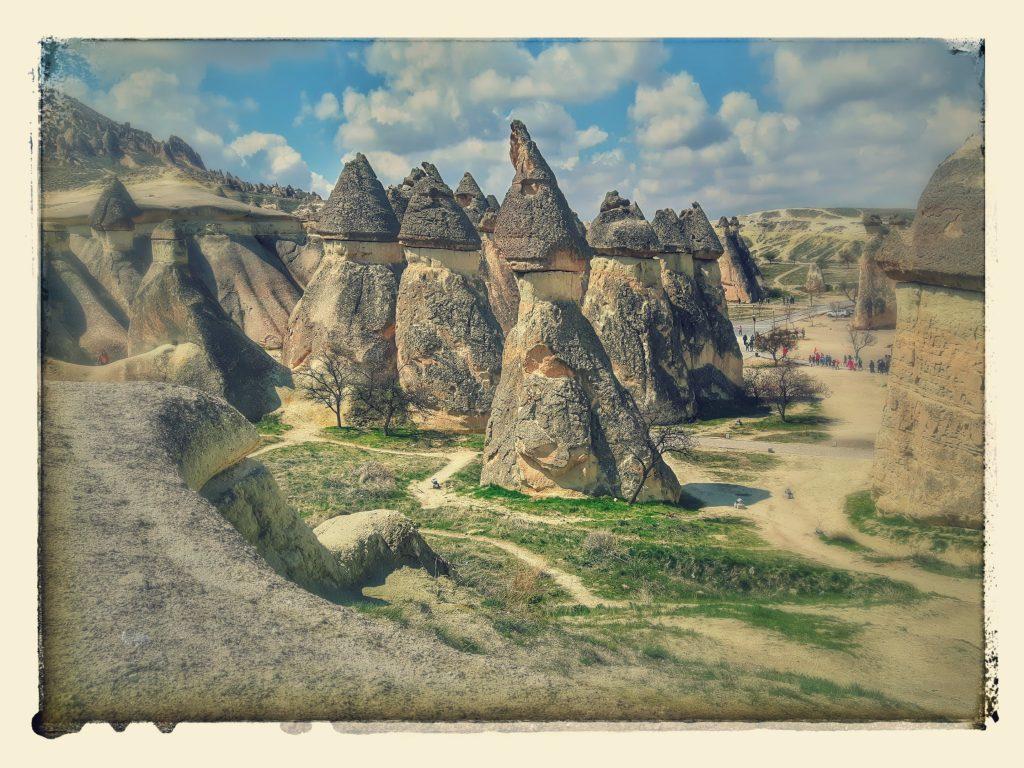 Hornurile din Pașabag, Cappadocia