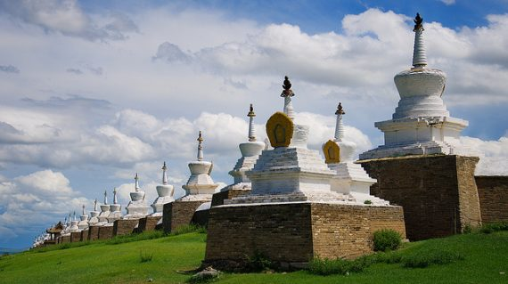 Stupas Erdenezuu
