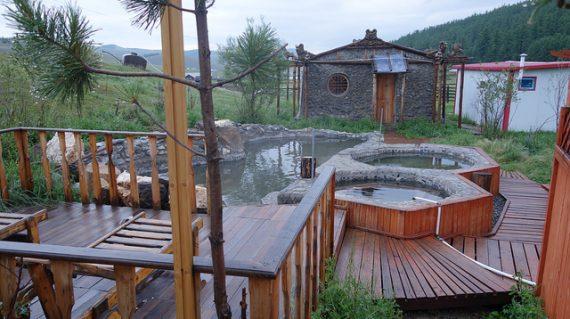 Tsenkher hot spa