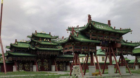 Winter palace Ulaanbaatar