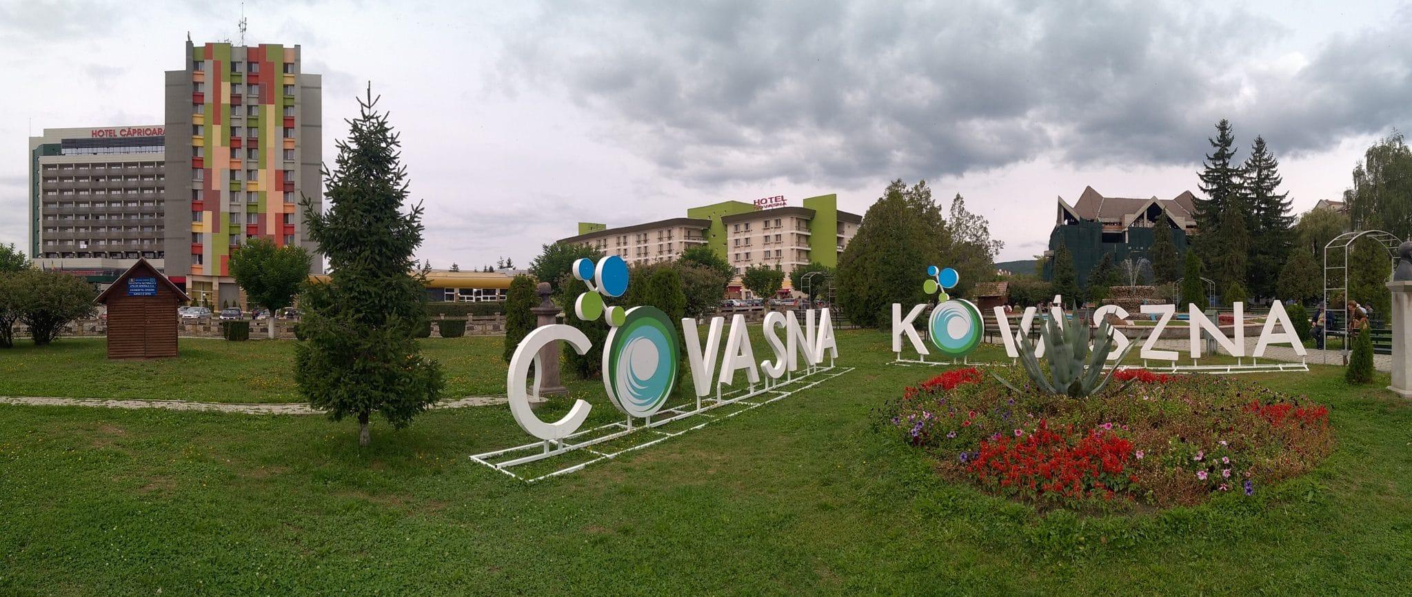 Centrul orașului Covasna