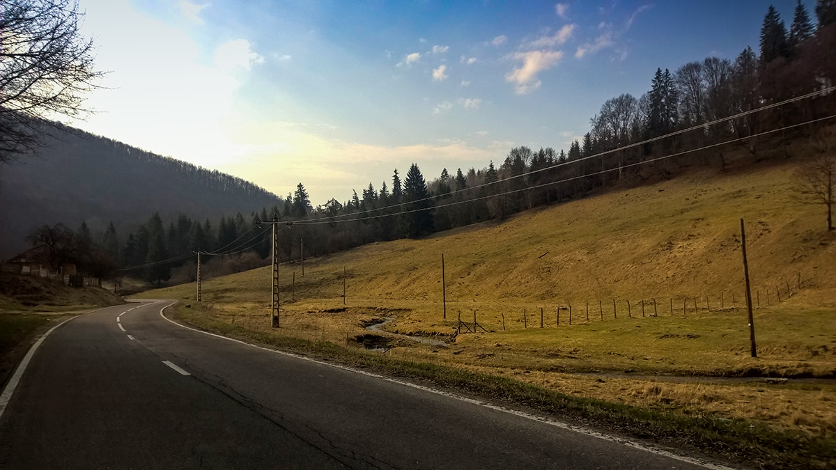 De la Băile Balvanyos spre Târgu Secuiesc