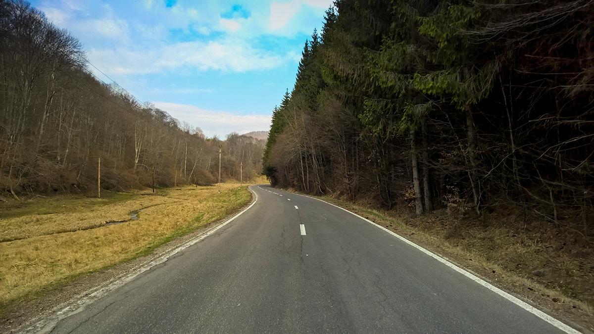 Drum spre Băile Balvanyos