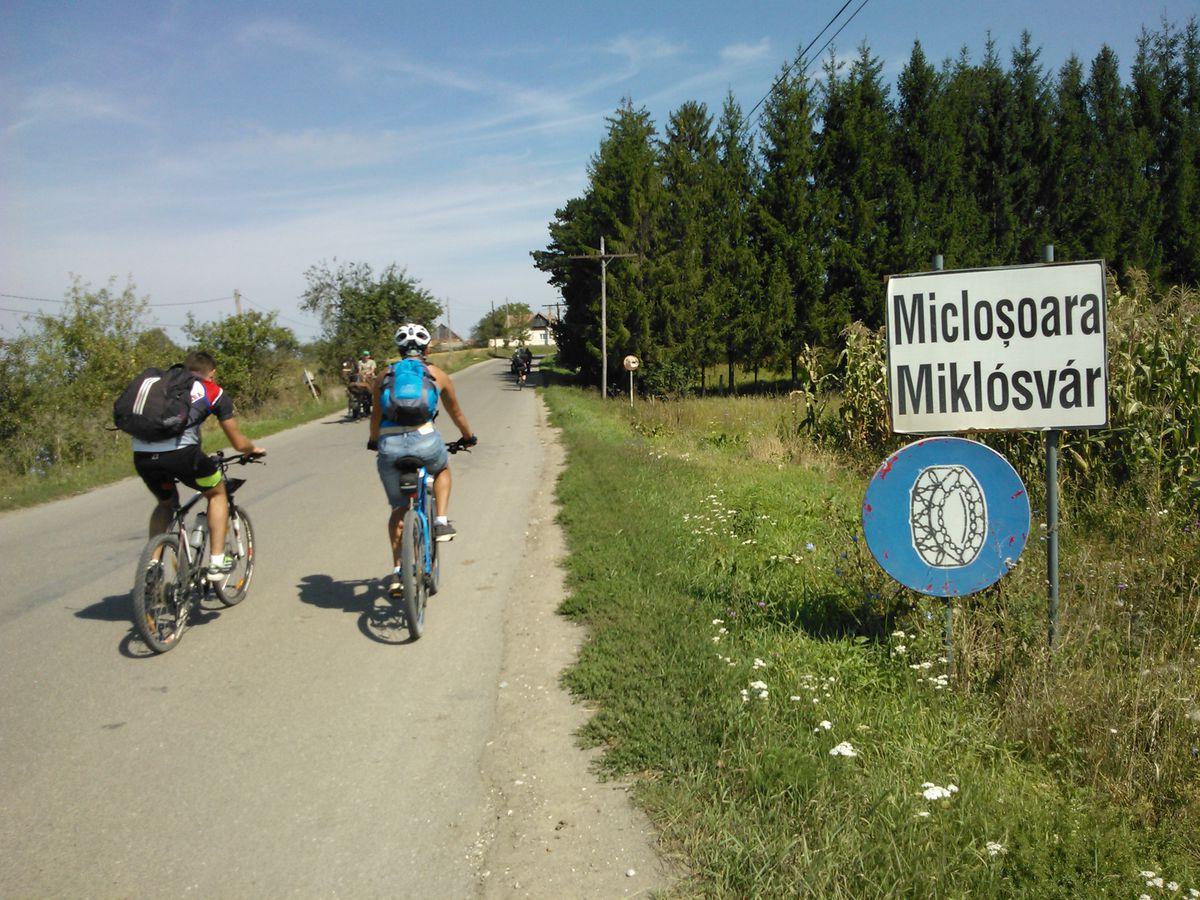 Intrare Micloșoara