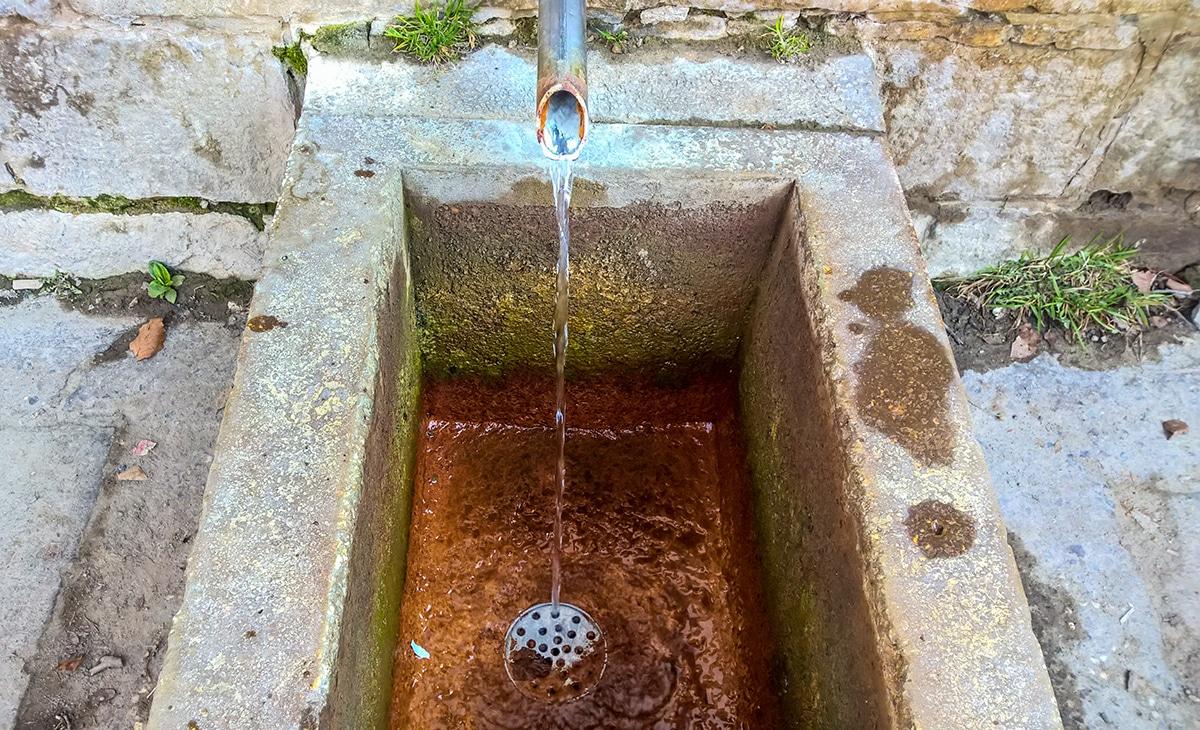 Izvor de apă minerală din Băile Balvanyos