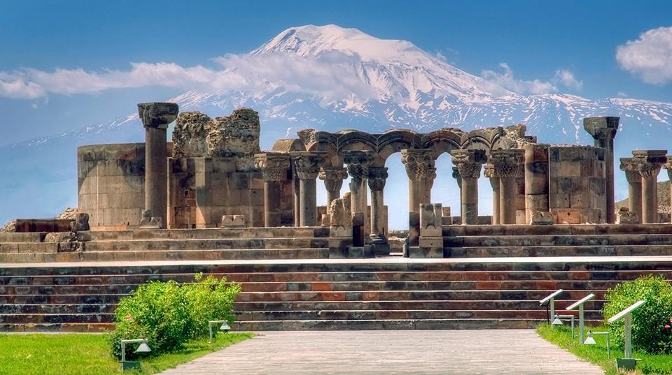 Vacanță în Armenia - Zvartnots