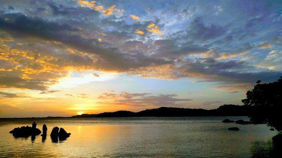 Sunrise in Trinco