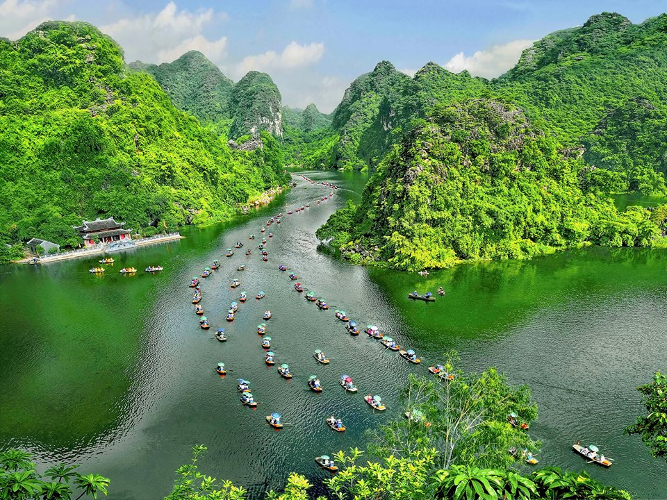 Vacanţa în Vietnam-Hoa Lu şi Tam Coc
