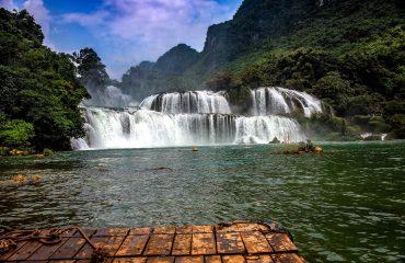 Cascada Ban Gioc Vietnam