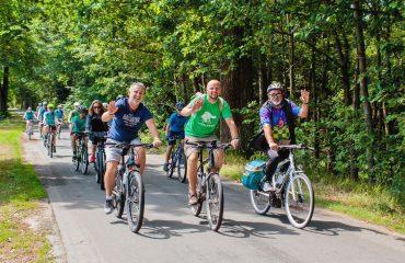 Cu bicicleta in Cehia