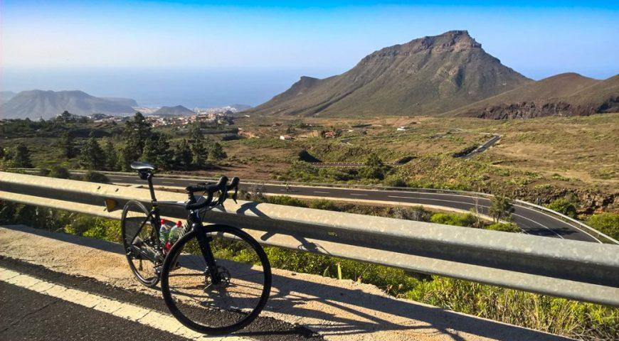 Cu bicicleta prin sudul insulei Tenerife