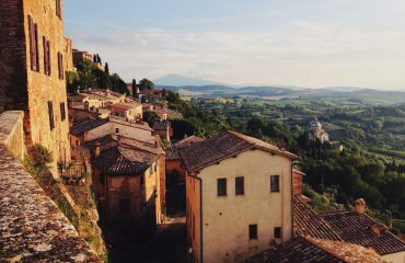 Peisaj rural in Toscana