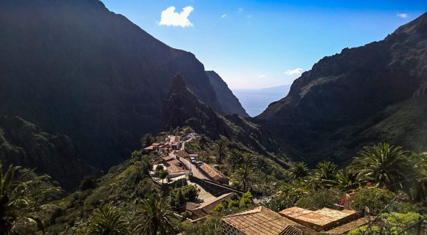 Satul Masca din Tenerife