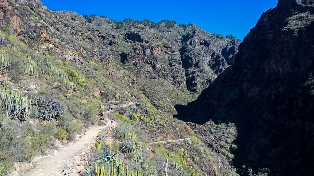 Traseul Barranco del Infierno din Tenerife