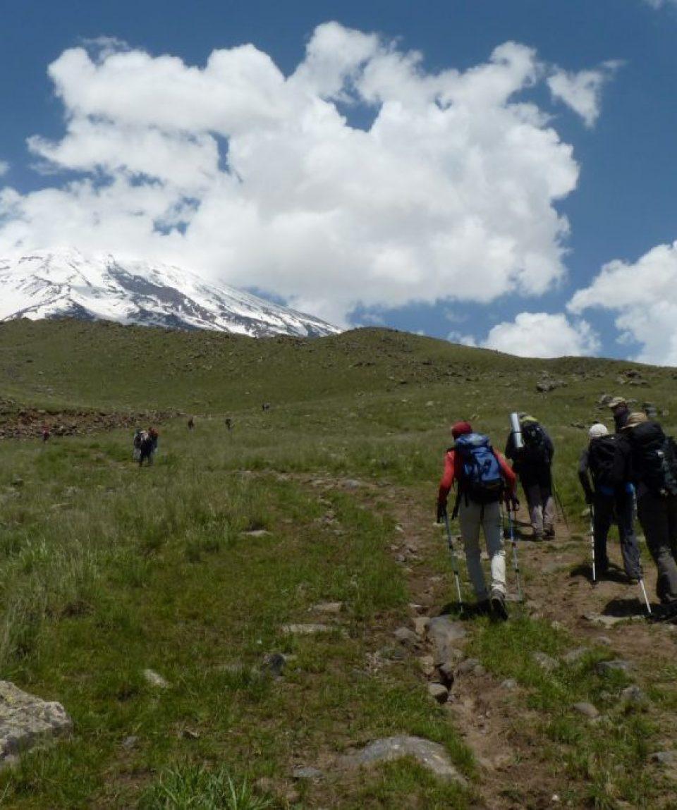 Spre prima tabără pe Ararat