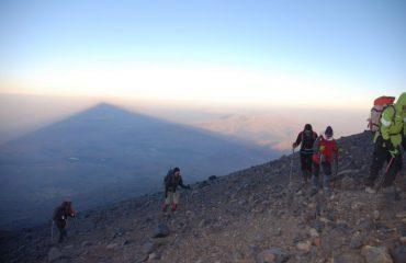Umbra muntelui Ararat