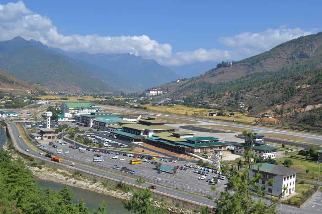 Aeroportul Internațional Paro din Bhutan