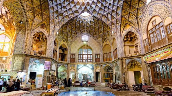 Bazarul din Kashan