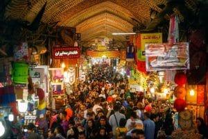 Bazarul din Teheran
