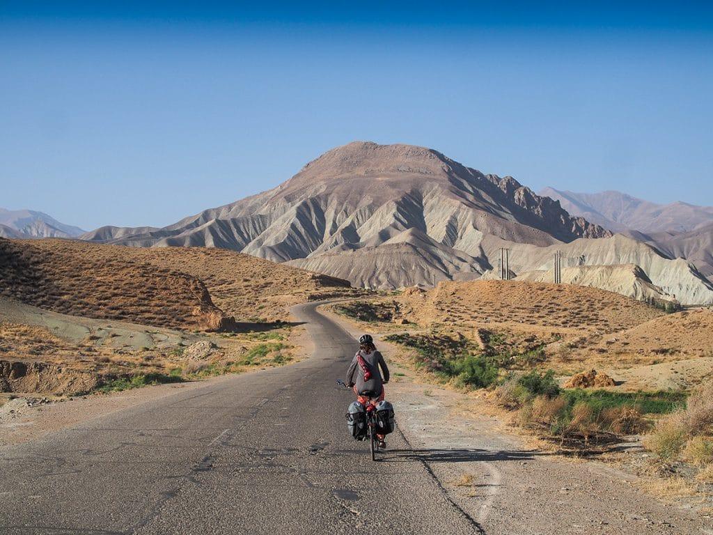Cu bicicleta în Iran