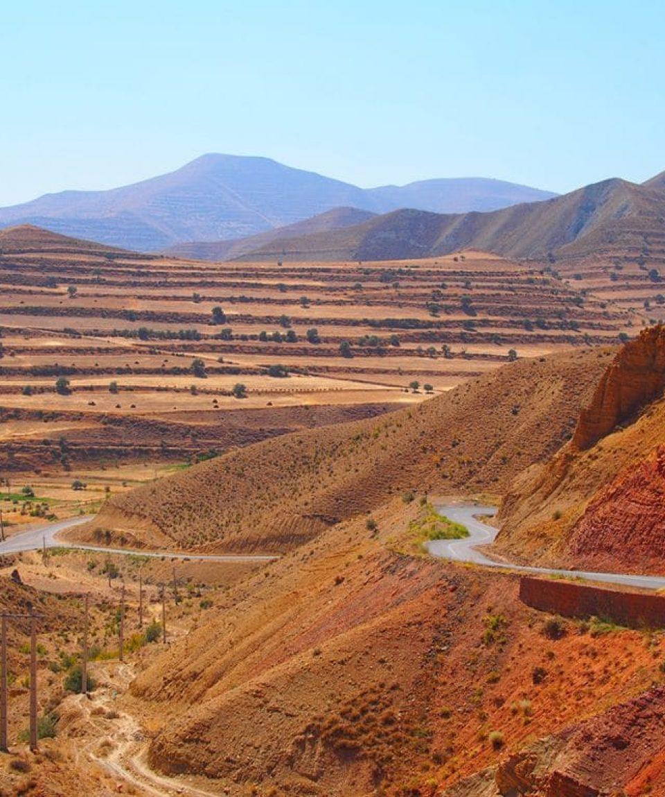 Drum prin Iran