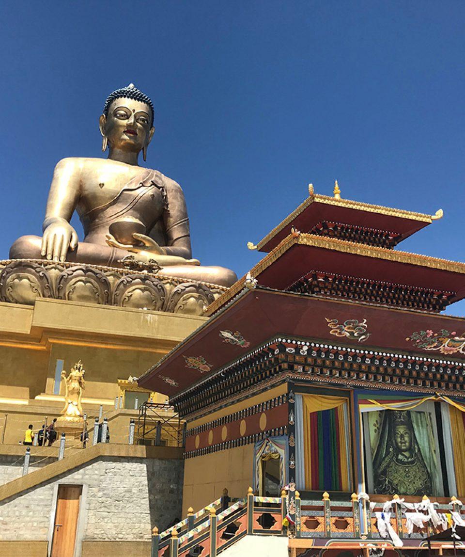 Kuenselphodrang - statuia lui Buddha din Thimphu