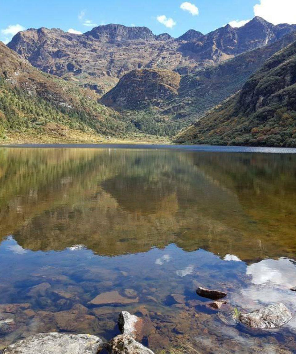 Lacul Jimelang Tsho din Bhutan