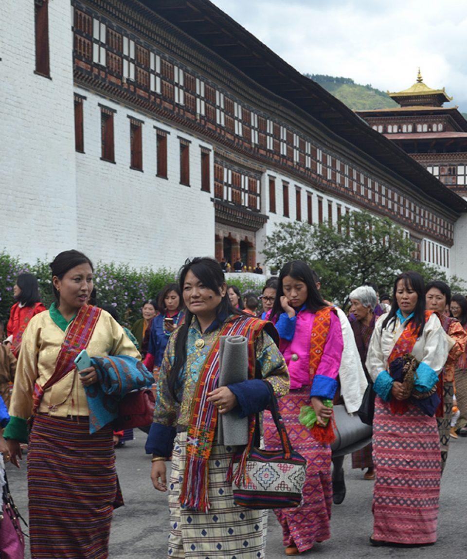 Locuitori din Thimphu