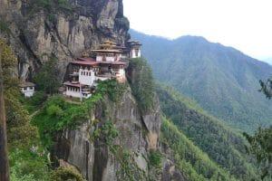 Mănăstirea Tiger's Nest din Bhutan
