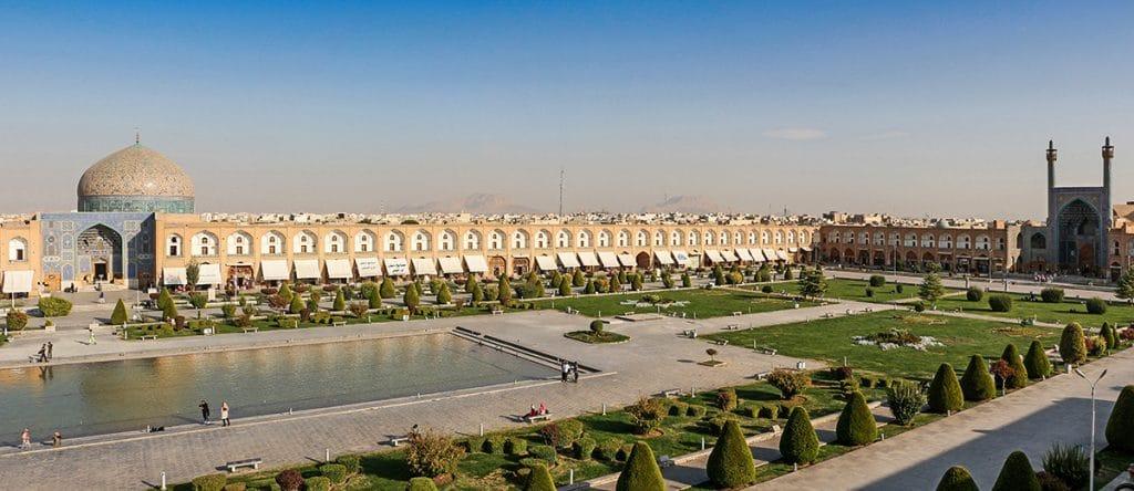 Piața Naqsh-e Jahan Isfahan