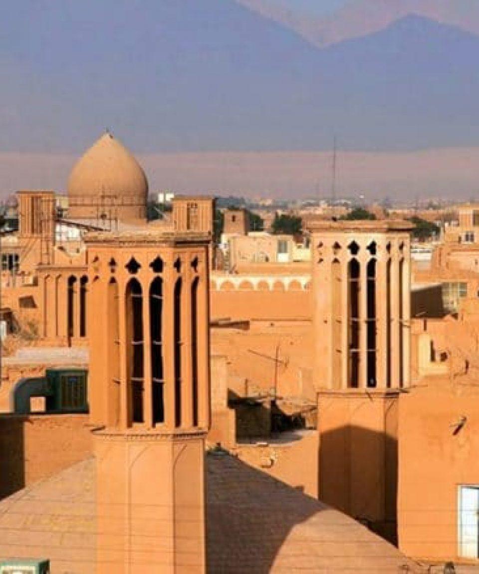 Turnurile de vânt din Yazd