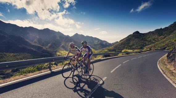 Cu bicicleta in Tenerife