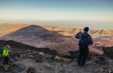 Urcarea pe vulcanul Teide