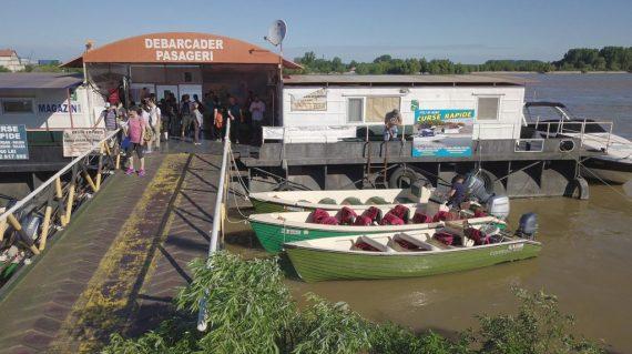 Debarcader pasageri Port Tulcea Aval