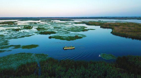 Excursie pe lacuri în Delta Dunării