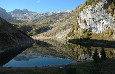 Lacul Krn din Slovenia