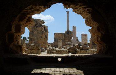 Ruine în Tunisia