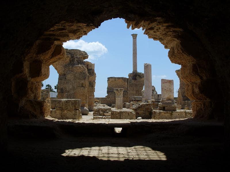 Circuit în Tunisia - ruine