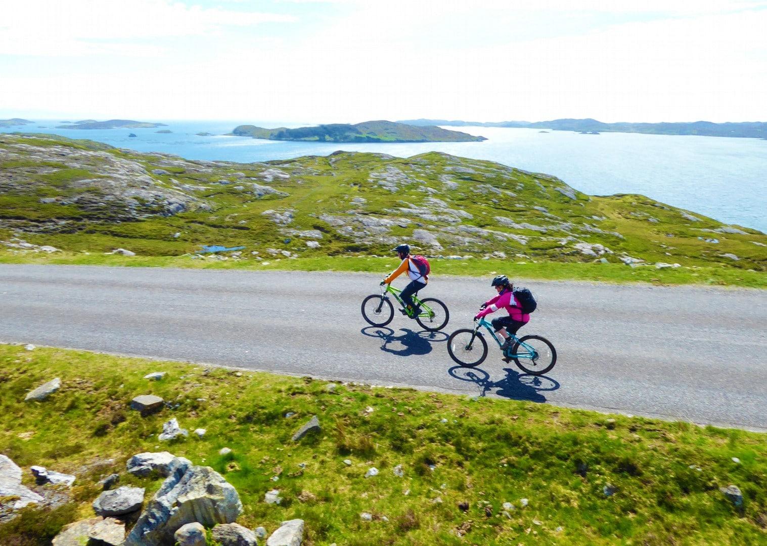 Insulele Hebride pe bicicletă